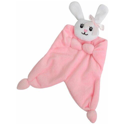 Крошка Я Игрушка-комфортер для новорождённых Зайчонок крошка я игрушка комфортер для новорождённых игрушка для детей первый подарок пинетки