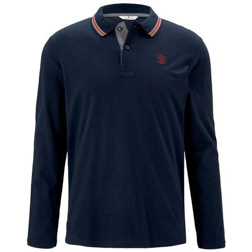 Поло Tom Tailor 1021521 размер M, темно-cиний поло tom tailor tom tailor to172emdtmp2