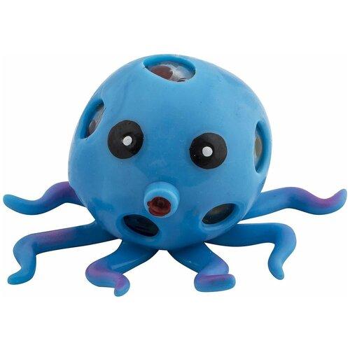 Фото - Игрушка-антистресс Эврика Осьминог, 99445, синий игрушка антистресс подушка эврика пончик n1 98762