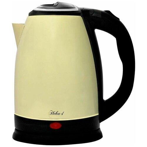 Чайник Великие реки Нева-1, желтый