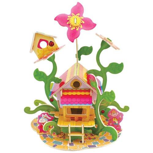 Сборная модель REZARK Лесные домики. Цветочный дом FHS-003