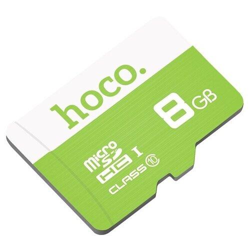 Фото - Карта памяти Hoco Micro SDHC 8 GB, зеленый карта памяти hoco micro sd 4gb синяя