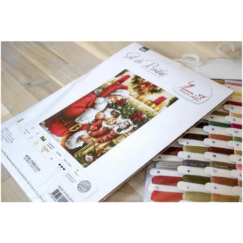 Купить B602 Дед Мороз (Luca-S) Набор для вышивания, Наборы для вышивания