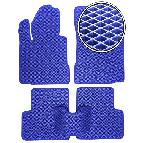 Автомобильные коврики EVA на Kia Soul II 2014 - настоящее время