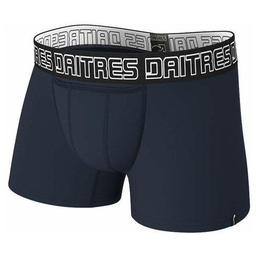 Daitres Трусы боксеры удлиненные с профилированным гульфиком Long Bamboo, размер 3XL/58, синий