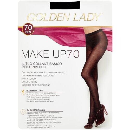 Колготки Golden Lady Make Up, 70 den, размер 3-M, nero (черный) колготки golden lady microglam 70 den размер 3 m nero черный