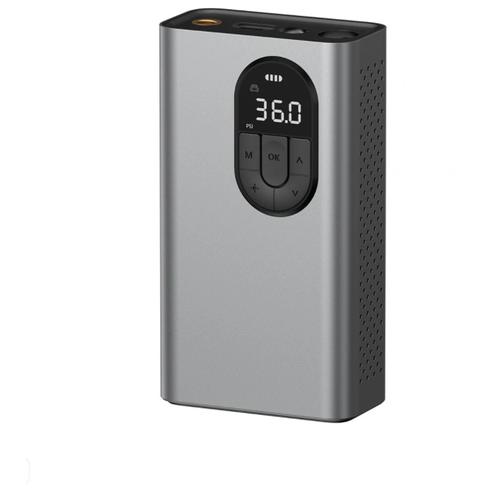 Автомобильный компрессор Baseus Energy Source Inflator Pump CRCQB02-0A Gray