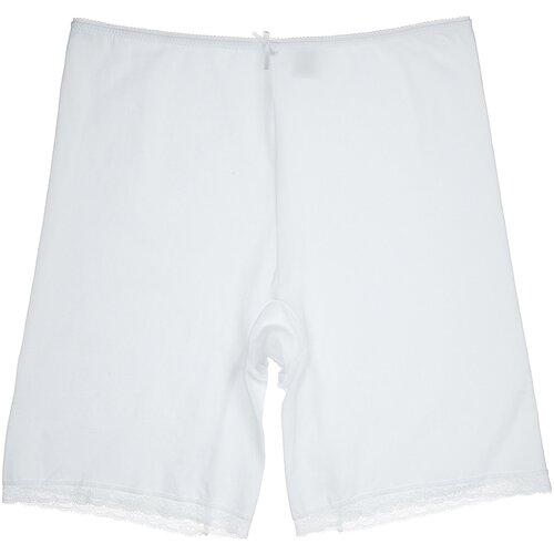MiNiMi Трусы панталоны с завышенной талией, размер 50/XL, белый (bianco)