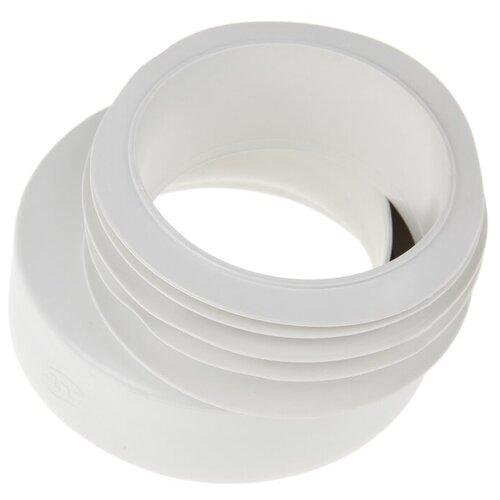 Манжета эксцентриковая для унитаза АНИ Пласт W0410 белый недорого