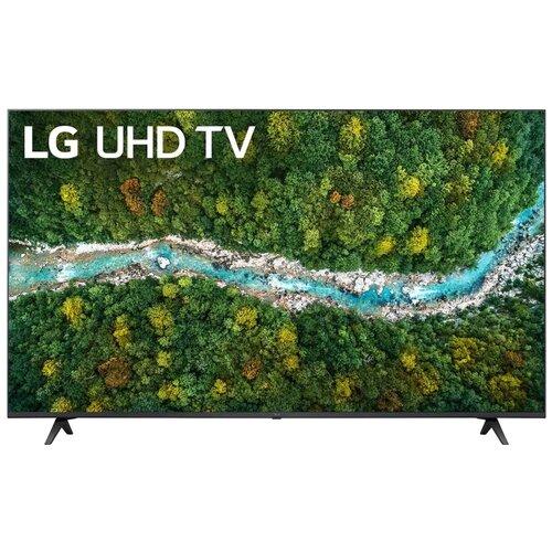 """Телевизор LG 50UP77006LB 49.5"""" (2021), черный"""