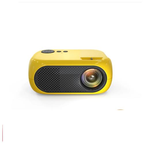 Мультимедийный мини-проектор 1080P Full HD LED LCD (желтый)