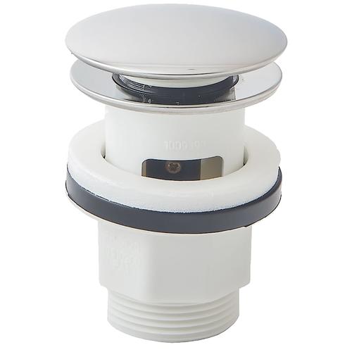 Фото - Донный клапан полуавтоматический для раковины hansgrohe 50105000 донный клапан полуавтоматический для ванны для раковины wasserkraft а024