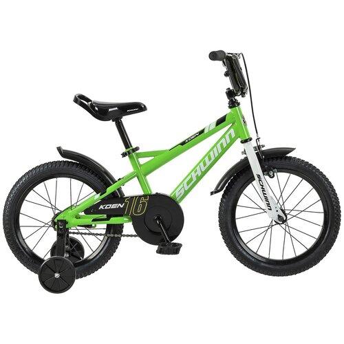 Детский велосипед Schwinn Koen 16 зеленый (требует финальной сборки)