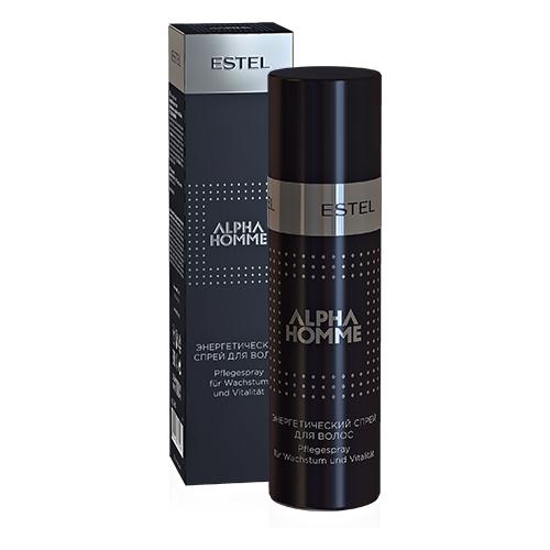 Купить Estel Professional Энергетический спрей для волос ESTEL ALPHA HOMME (100 мл)