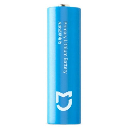 Фото - Батарейка AA - Xiaomi Mijia Super Lithium Battery 2900mAh Light Blue (4 штуки) принтер xiaomi mijia photo