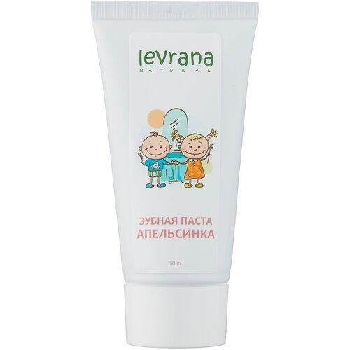 Зубная паста Levrana Апельсинка, 50 мл паста зубная levrana противокариесная 72 мл