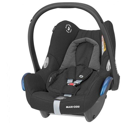 Автокресло-переноска группа 0+ (до 13 кг) Maxi-Cosi CabrioFix, essential black автокресло maxi cosi tinca essential black черный
