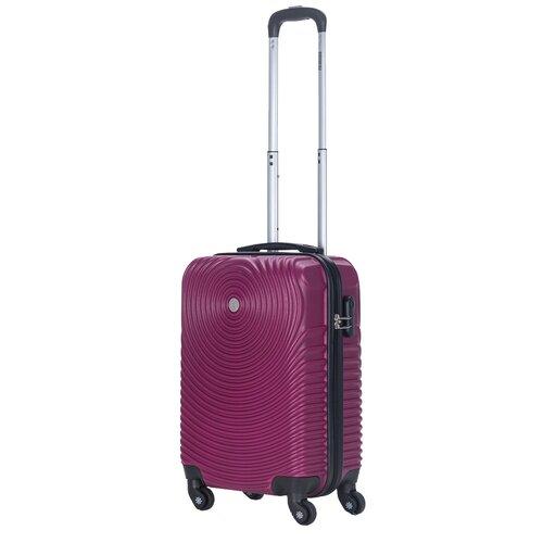 Фото - Чемодан PROFFI Tour Space S 36 л, рубиновый чемодан proffi travel tour fashion 24 pp пластиковый средний 64 5х47х27 желтый