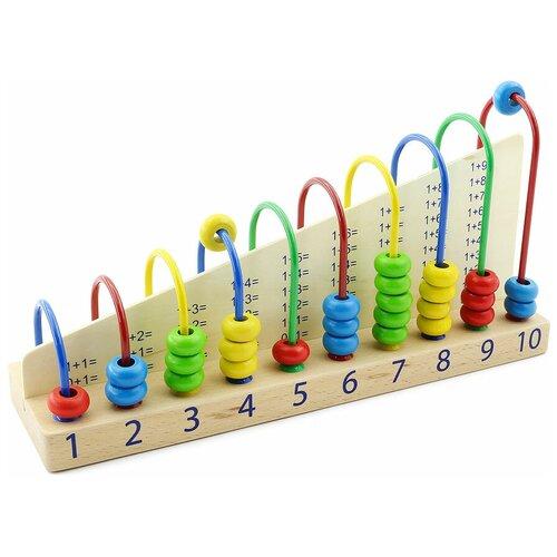 сборная модель мир деревянных игрушек ракетная установка п052 Счеты Мир деревянных игрушек Д013