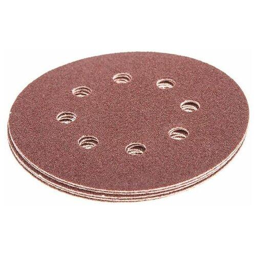 Фото - Шлифовальный круг на липучке Hammer 214-003 125 мм 5 шт шлифовальный круг на липучке hammer 214 016 150 мм 5 шт