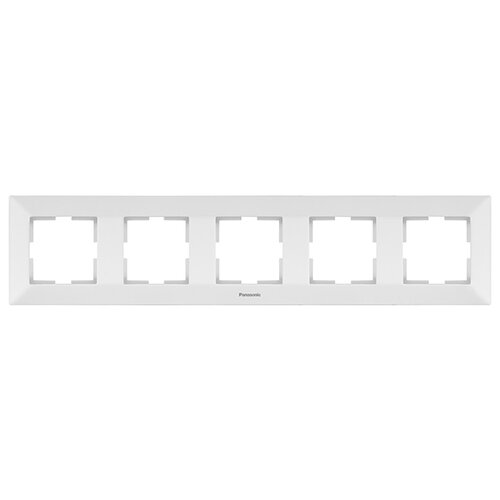 Рамка 5 постов универсальная белая WMTF08052WH Panasonic Arkedia