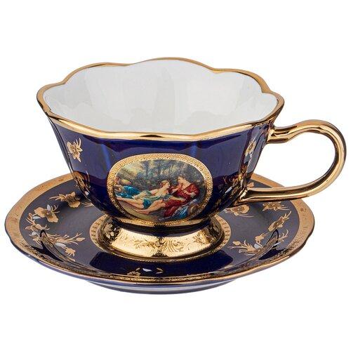 Фото - Чайная пара влюбленная пара кобальт 150 мл Lefard (77-956) чайная пара mercury 150 мл керамика
