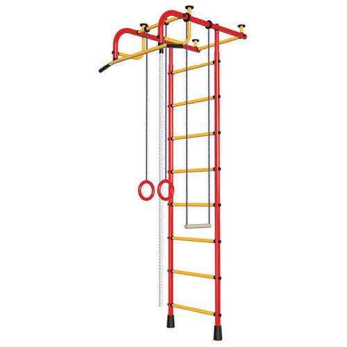 Шведская стенка Пионер 1, красный/желтый шведская стенка пионер с2нм красный желтый