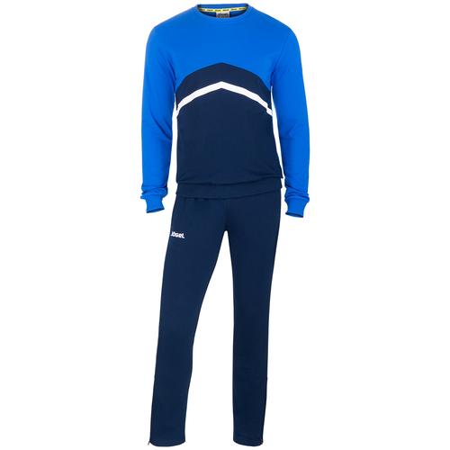 Фото - Тренировочный костюм Jogel Jcs- 4201-971, хлопок, темно-синий/синий/белый (L) костюм авангард 001160 l синий