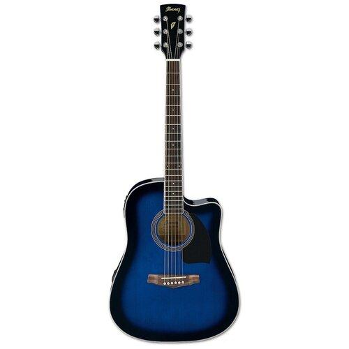 Электроакустическая гитара Ibanez PF15ECE TBS