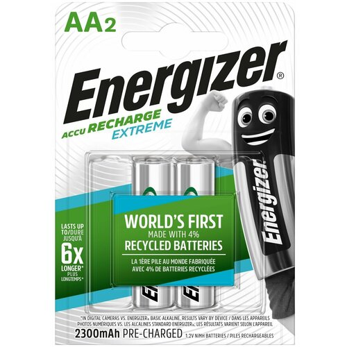 Фото - ЭНЕРДЖАЙЗЕР Аккумулятор Power Plus NH15/AA 2000 BP4 Pre-Ch (4шт) 1.2V батарейка energizer max plus aa 4 шт