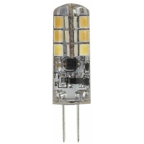 Лампа светодиодная ЭРА G4 1,5W 4000K прозрачная LED JC-1,5W-12V-840-G4 Б0033190