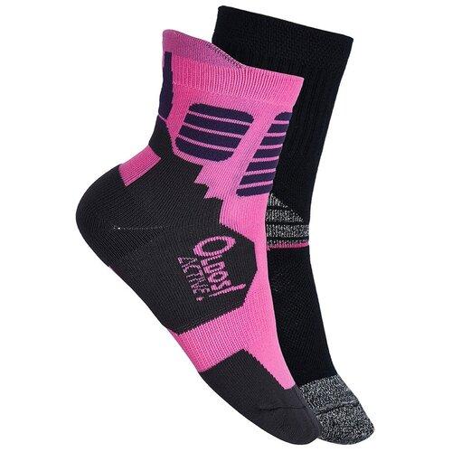 Носки Oldos Солти 4-5-0-nsk09, размер 32-34, розовый