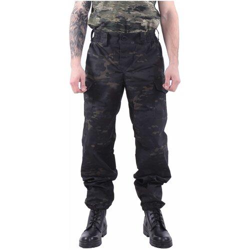 Брюки KE Tactical Снайпер-2 multicam black 170 – 176 52-54 костюм ke tactical горка мембрана на флисе multicam 170 – 176 52 54