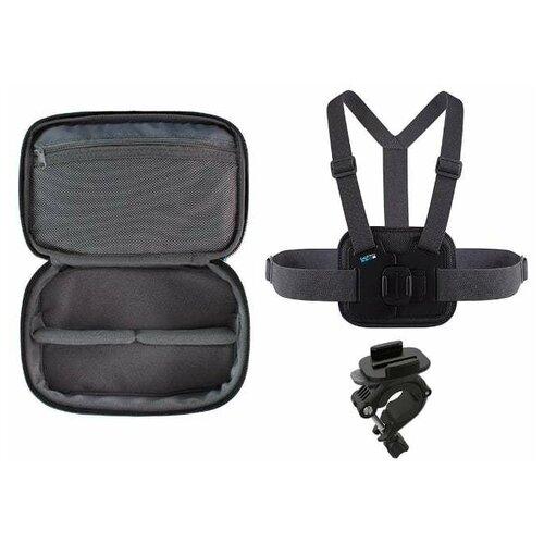 Фото - Набор GoPro AKTAC-001 черный набор аксессуаров travel gopro akttr 001 travel kit
