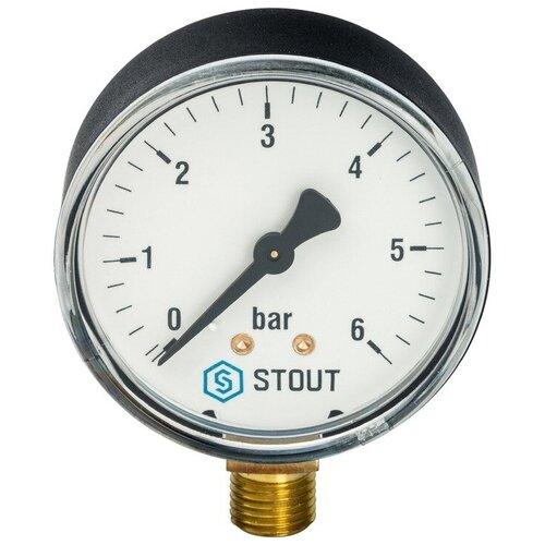 Аналоговый манометр STOUT SIM-0010-630608