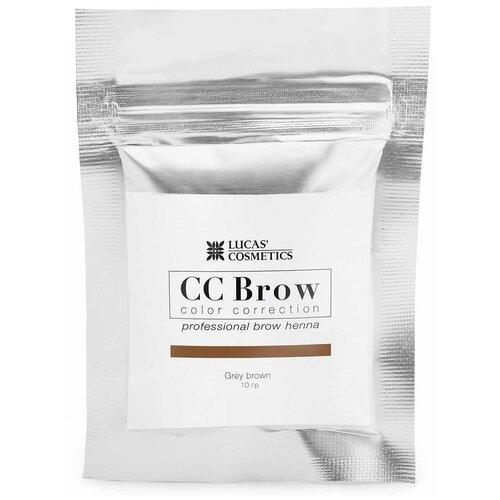 Фото - CC Brow Хна для бровей в саше 10 г grey brown cc brow хна для бровей в саше 10 г blonde