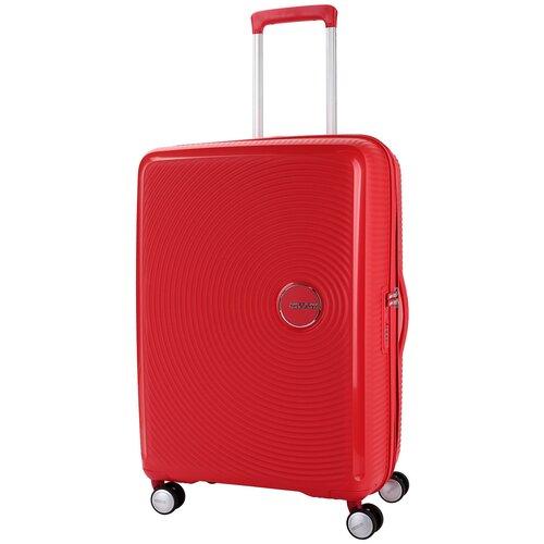 Чемодан American Tourister Soundbox M 81 л, coral red чемодан american tourister sunside черный m
