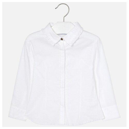 Блузка Mayoral размер 6(116), белый