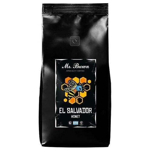 Кофе в зернах Mr.Brown El Salvador Honey, 1 кг winfried honig mr honey s small banking dictionary