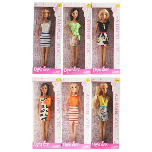 Кукла Defa Lucy Модные подружки, 6 видов в коллекции