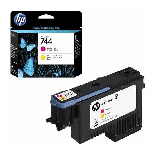 Головка печатающая для плоттера HP (F9J87A) Designjet Z2600/Z5600 №744 пурпурный/желтый оригинальный 1 шт.
