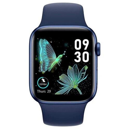 Умные часы IWO HW22 Series 6, синий