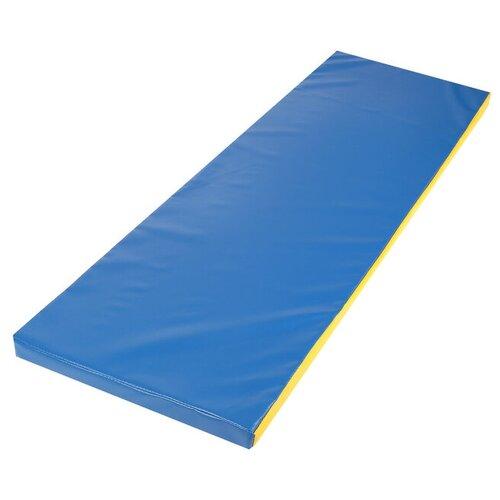 Фото - Мат 150 х 50 х 5 см, винилискожа, цвет синий/жёлтый платок женский troll цвет темно синий молочный tsa0345gr размер 150 см х 150 см