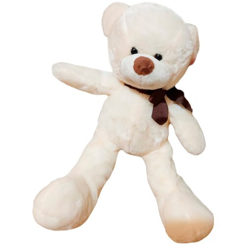 Фото - Плюшевый медведь Тедди детская мишка игрушка мягкая плюшевые игрушки 36 см белого цвета мягкие игрушки стрекоза мешок для подарков барон