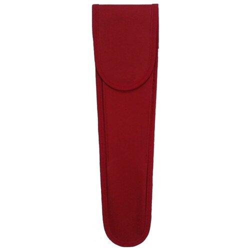 Чехол для кистей, красный, ткань недорого