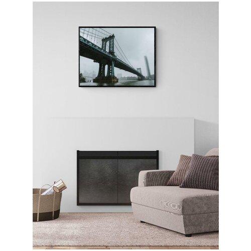 Плакат Просто Постер Манхэттенский мост 60x90 в раме