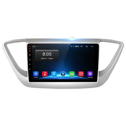 штатная магнитола carmedia u9 6263 t8 honda crv 2017 Штатная магнитола Hyundai Solaris 2 Verna (2017-2018) (4/64G) 8-ЯДЕР 4G Android 10