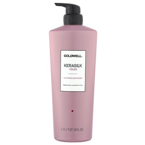 Купить Goldwell Kerasilk Premium Color Cleansing Conditioner - Кондиционер очищающий для окрашенных волос 1000 мл