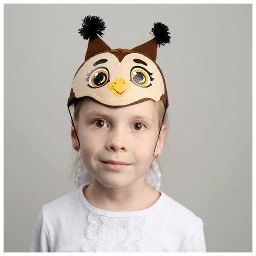 Купить Шляпа карнавальная Совушка 5047400, Страна Карнавалия, Карнавальные костюмы