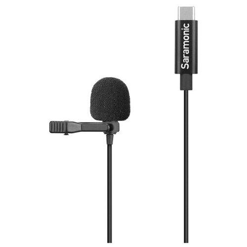 Микрофон Saramonic LavMicro U3A, петличный, с кабелем 2 м, USB-C